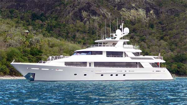 130 Motor Yacht for Sale
