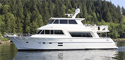 68 Hampton Endurance Skylounge LRC Motor Yacht for Sale|Persistent 1