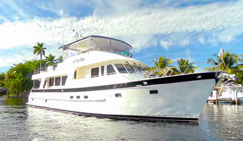 70' Outer Reef Motor Yacht Cielo for sale
