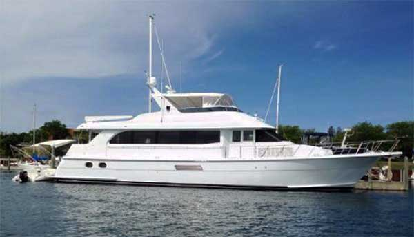 75 Hatteras Sport Deck Motor Yacht for Sale