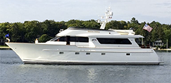 80 Burger Motor Yacht for Sale|Chateau Thierry