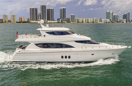 Hatteras Enclosed Flybridge Motor Yacht for Sale