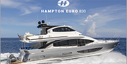 83 Hampton-830 Euro-yacht for sale in Fort Lauderdale