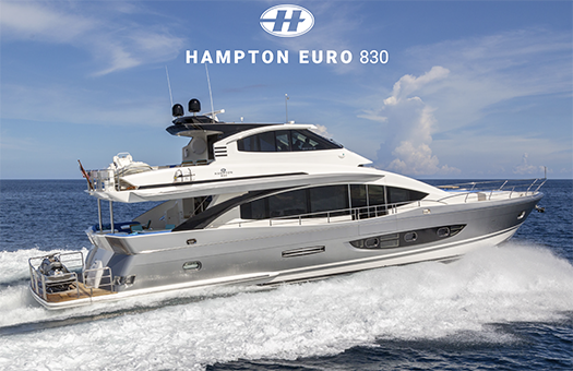 Hampton Euro 830 yacht for sale Fort Lauderdale